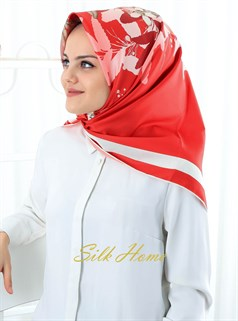 Silk Home Polyester Twill Eşarp 72001-08