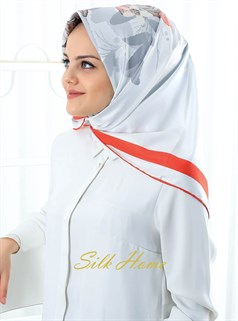 Silk Home Polyester Twill Eşarp 72001-10