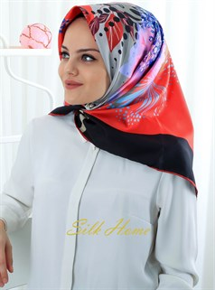 Silk Home Polyester Twill Eşarp 72005-02
