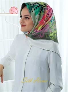 Silk Home Polyester Twill Eşarp 72005-09