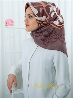 Silk Home Polyester Twill Eşarp 72007-02